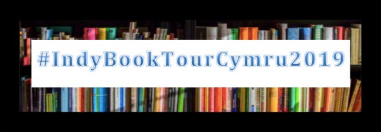IndyBookTourCymru2019 logo